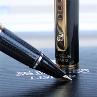 2017 new All metal luxury fountain pen high quality ink pen for gift  office and school writting stationery supplies