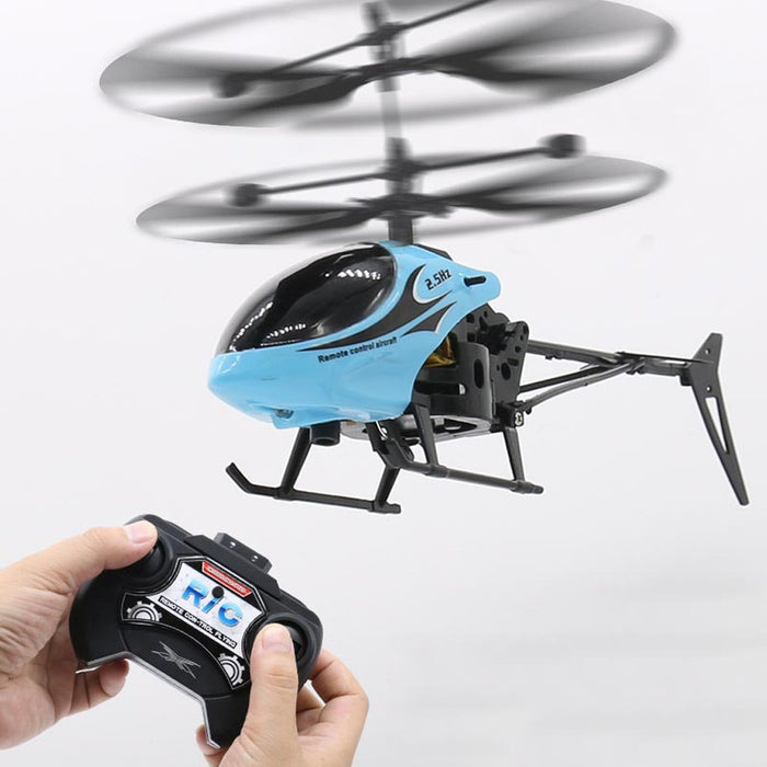 Mini RC Infrared Induction Remote Control RC Toy 2CH Gyro Helicopter Drone Plastic RC Helicopter