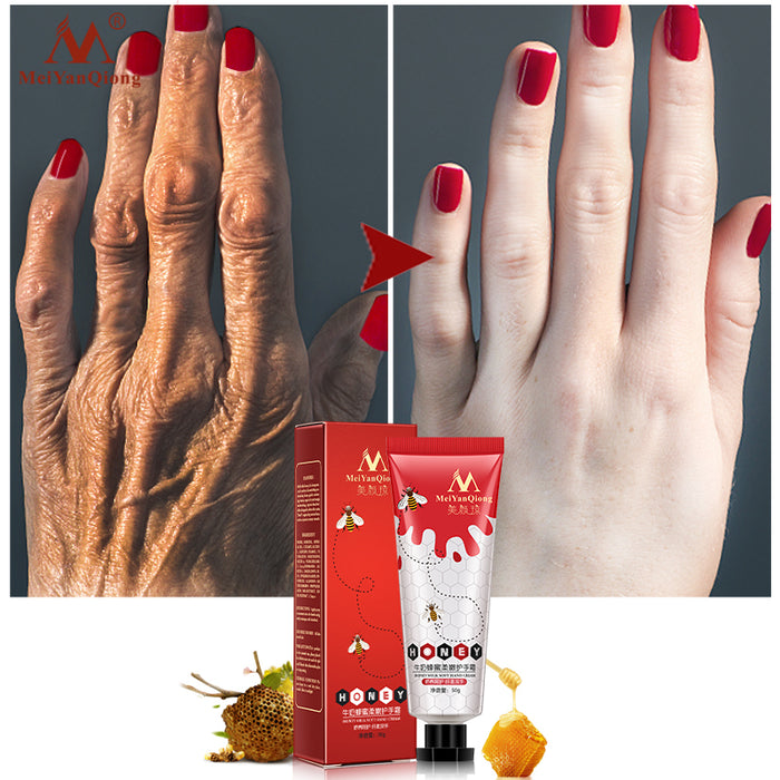 Honey Milk Soft Hand Cream Lotions Serum Repair Nourishing Hand Skin Care Anti Chapping