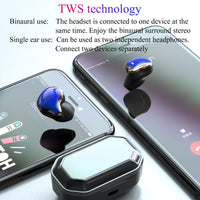 G01 6D Surround Bluetooth 5.0 Earphone Touch Control TWS Wireless Earbuds HIFI Stereo Earphones 700mAh Charging Compartment