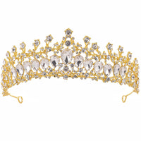 Bride Wedding Luxury Hair Accessories Girls Pageant Party Delicate Tiaras Women Fashion Shining
