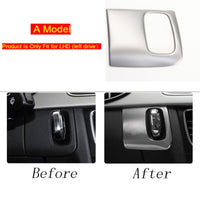 Car Styling AC Outlet Trim Refit Air Outlet Frame dashboard Stickers Covers for Audi A4 B8 A5 RHD