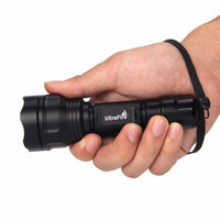 UltraFire LED Flashlight  XP-E2 Red Torch Hunting Night fishing tactical flashlight 630nm Zoom Spotlight LUZ 18650 Flashlight