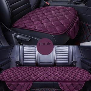 Front+Rear 5 Seats Plush car seat covers For Audi A6L R8 Q3 Q5 Q7 S4 RS Quattro A1 A2 A3 A4 A5 A6 A7 A8 auto accessories sticker