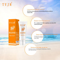 SPF 50 Facial Whitening Body Sunscreen Sun Cream Sunblock Skin Protective Cream Anti-Aging Oil-control Moisturizing Suncream