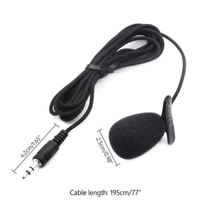 Universal 3.5 Mm Audio Jack Mini Gooseneck/Lapel Clip-on Lavalier Mic Microphone