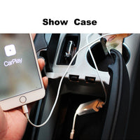Plug and Play Smart Link USB Apple CarPlay Dongle for Android Navigation Player system Stick with Android Auto