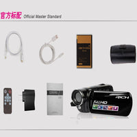 Portable Infrared Video Camera 1080P HD 16x Zoom 3.0'' TFT LCD Digital Video Camcorder Camera DV DVR Support for night shooting