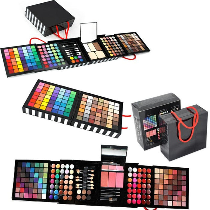 177 Color Eyeshadow Makeup Palette Set Shimmer Professional Lip Gloss Collection Makeup