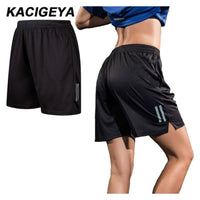 Womens Running Shorts Breathable Polyester Shorts Plus Size XXXS-3XL 2017 New Loose Sports Bermudas Feminina Gym Fitness Shorts