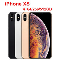 "Apple iPhone XS 5.8"" RAM 4GB ROM 64GB/256GB/512GB Original Mobile Phone LTE Hexa Core 12MP+12MP IOS12 Face ID NFC A12 Bionic"