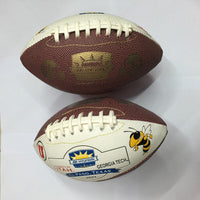 High Quality Size 3 American Leather Football Soccer Youth Child Professional Training Ball Outdoors