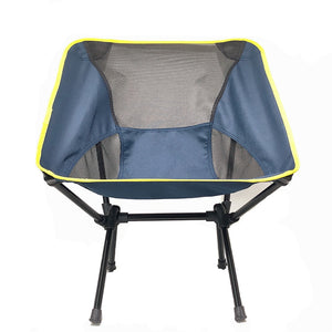 High Quality Portable Outdoor Aluminum Compact Folding Beach Chair Max Load 100kg Fishing Picnic Chair Foldable Camping Chair
