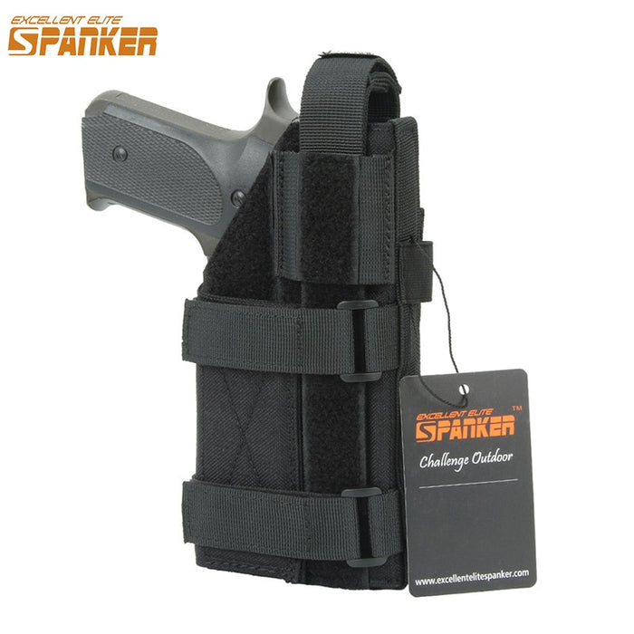EXCELLENT ELITE SPANKER Tactical Universal Pistol Holster Outdoor Hunting Military Molle