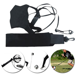 Soccer Kick Trainer football Juggle Bags Kick Football Training Equipment Adjustable Kick