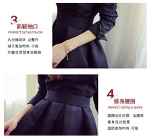 clothes girls teenager ball gown princess style dresses fashion girls big 13 14 15 16 years black red autumn winter girls dress