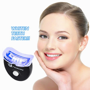 Mini Tooth Whitening Lamp 5 LED Teeth Whitening Light Accelerator Low Sensitity to Teeth Gum Teeth Whitening LED Cool Blue Light