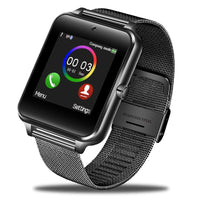 LIGE 2019 New Smart Watch Digital Watch Men Stainless Steel Bluetooth Watch Mobile Phone