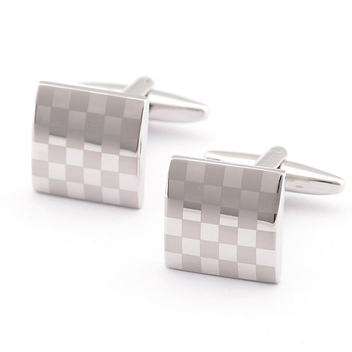 Laser cufflinks French shirts cufflinks