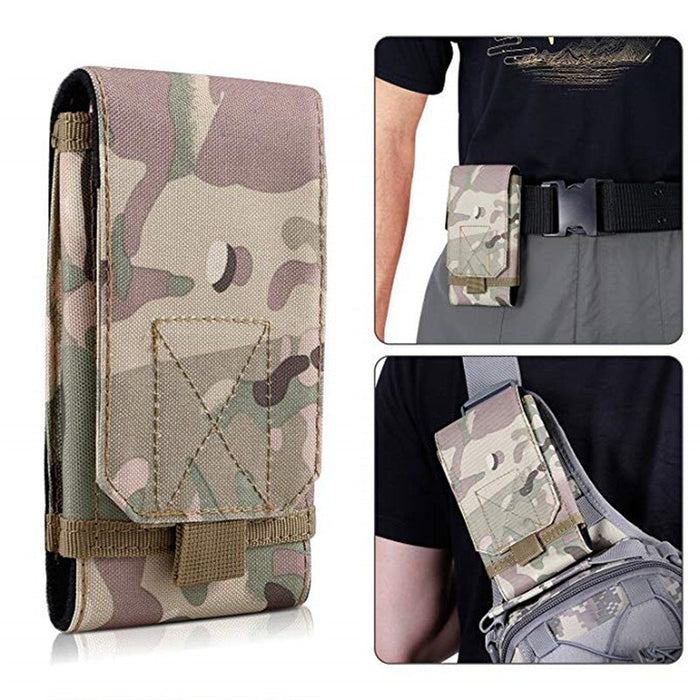 Tactical Pouch Military Bag Molle Gear Army Mobile Phone Belt Pouch EDC Security Pack Waist