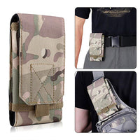 Tactical Pouch Military Bag Molle Gear Army Mobile Phone Belt Pouch EDC Security Pack Waist Bag Case Utility Gadget Phone Cover