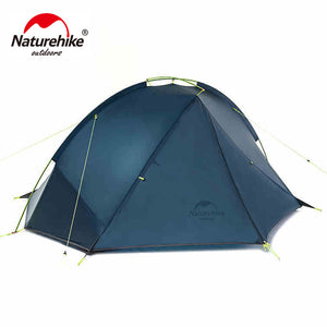 NatureHike 1.4-1.6 Kg Tagar 1-2 Person Tent Camping Backpack Tent 20D Ultralight Fabric NH17T140-J