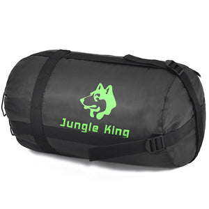 Jungle King 2017 thickening fill four holes cotton sleeping bags outdoor camping mountaineering special camping  bag movement
