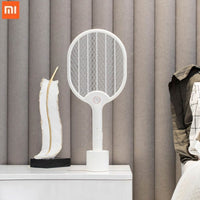 Xiaomi Jordan&judy Electric Mosquito Swatter USB Charging Mosquito Dispeller Three-layer Anti-electric Shock Net
