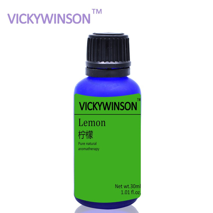 VICKYWINSON Lemon aromatherapy essential oil 30ml Car perfume additive air outlet perfume