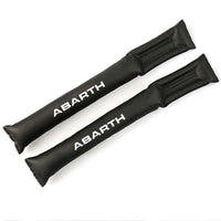 Car Seat Gap Pad ABARTH Car Accessories 2pcs PU leather Fillers Holster Spacer Filler Padding Protective