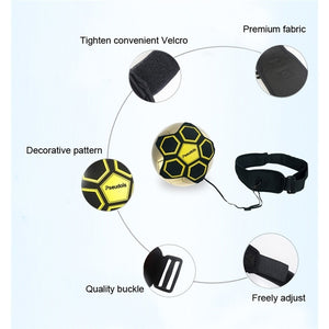 Soccer Kick Trainer football Juggle Bags Kick Football Training Equipment Adjustable Kick Trainer Football Accessories