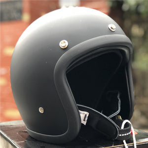 Japanese low profile motorcycle helmet 500TX cafe racer helmet Fiberglass shell light weight Vintage motorcycle helmet