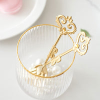 Nordic Golden Retro Crown Dessert Fork Spoon Coffee Spoon Cake Fork Girl Stainless Steel Fork Spoon