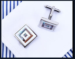 KFLK Luxury 2019 shirt cufflinks for mens gift Brand cuff buttons Color Shell cuff link High Quality abotoaduras Jewelry