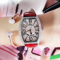 Fashion Women's Watches Bracelet Diamond Dress Ladies Wrist Watches For Women Quartz Leather Watch Women Relogio Feminino
