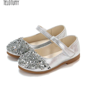 TELOTUNY baby girl princess shoes Kids Toddler Infant Girls fashion Crystal Leather Single Shoes Party Princess Shoes  ZO04