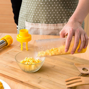 1Pc Corn Stripper Fruit Vegetable Kitchen Tools Stainless Steel Corn Cob Remover Cutter Kitchen Gadgets Accessory