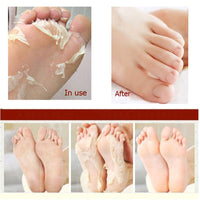 Socks Exfoliating Foot Mask Cream Removes Calluses To Reveal Feet Exfoliation Foot Care Mask for Pedicure Socks Skin Care