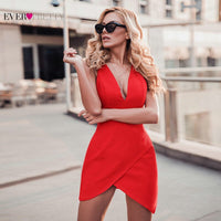 New Year Cocktail Dresses Short Ever Pretty 2019 Red Sleeveless Mermaid Mini 3 Styles Robe Cocktail Sexy Homecoming Dresses