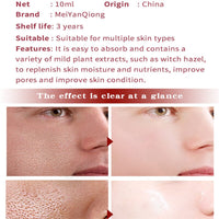 2019Facial Care Tools Essential Witch Hazel Pore Shrink Refining Serum Anti-aging Fades Fine Lines To Repair Skin Essence TSLM2