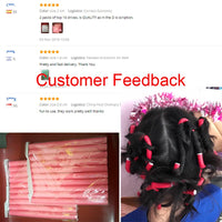 10 Pcs/Set Soft Hair Curlers Magic Air Hair Rollers Curling Sticks Foam bendy Twist Flexi Rods DIY Styling Tool Curl hair curler