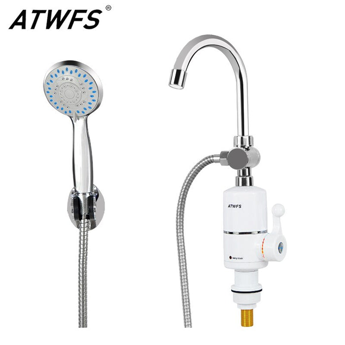 Instant Water Heater Faucet Hot Water Shower Bathroom  Pool Heater Kitchen Heating
