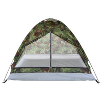 TOMSHOO Portable Camouflage Camping Tent for 2 Person Single Layer Beach Tent Outdoor Ultralight Tents Outdoor Camping Equipment