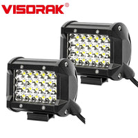 "VISORAK 4"" 72W 60W LED Work Light Bar Offroad LED Work Light For Off-road 4X4 4WD Car SUV ATV Motorcycle LED Driving Light"