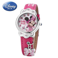 100% Genuine Disney Brand Watches Frozen Sophia Minnie Watch Fashion Luxury Watch