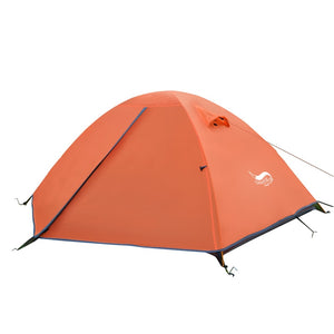 Desert&Fox Backpacking Tent, 2 Person Aluminum Pole Lightweight Camping Tent,Double
