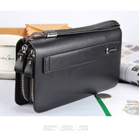 New Men Classic Wallet Luxury Long Clutch Handy Phone Bag For LG Male Business Leather Purse Large Capacity Men's Clutch Wallets