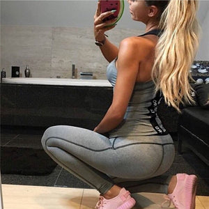 Yoga Outfits for Women Yoga Set Breathable Quick Drying Elastic Workout Ropa Gym Wear Fitness Clothing Sport Suit Sportswear
