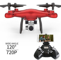 WIFI FPV real time RC drone S10 2.4G headless attitude hold aerial remote control helicopter with 720P wide camera vs X8SW GW180