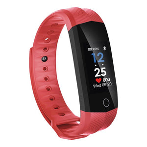 Color Screen 24 - hour Continuous Heart Rate Monitoring Waterproof Bluetooth Health Exercise